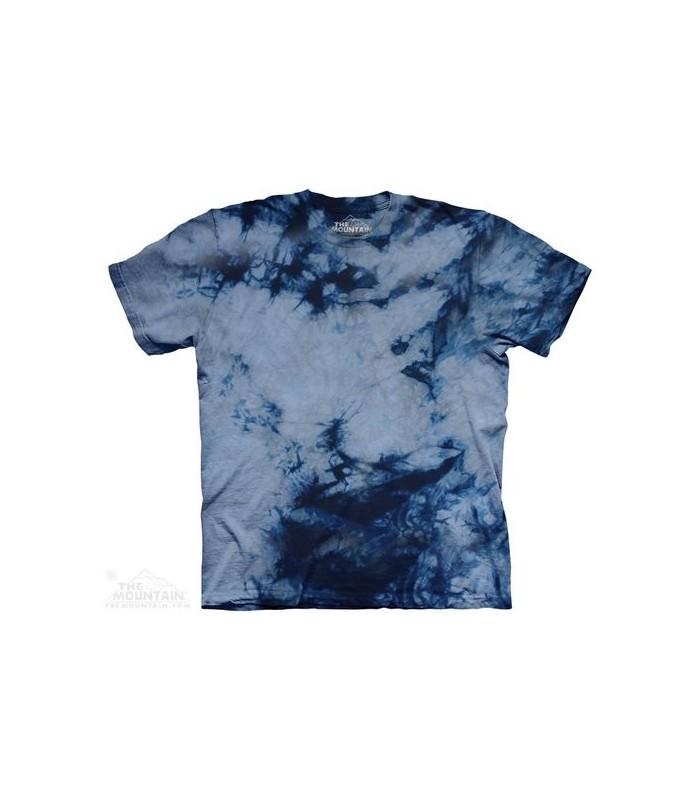 T-shirt Tacheté Gris Bleu The Mountain