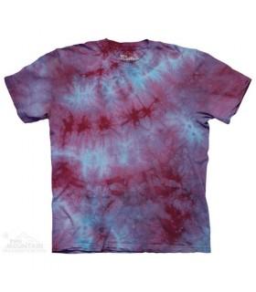 Liquid Sky - Mottled Dye T Shirt The Mountain