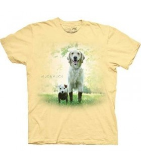 Mud and Muck - Dogs T Shirt by the Mountain
