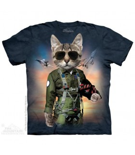 Tom Cat - Airplane T Shirt The Mountain