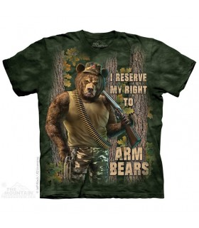T-shirt Ours Chasseur The Mountain