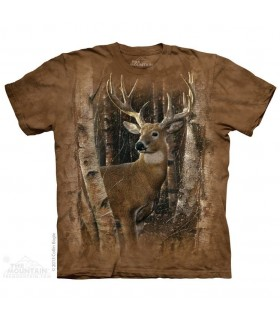 Birchwood Buck - Deer T Shirt The Mountain