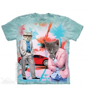 Undercover Kittens - Cat T Shirt The Mountain