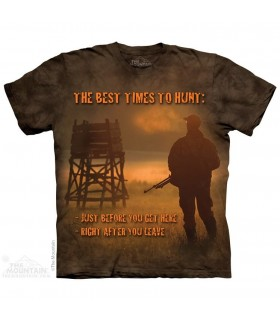 Best Time Outdoor - Hunting T Shirt The Mountain