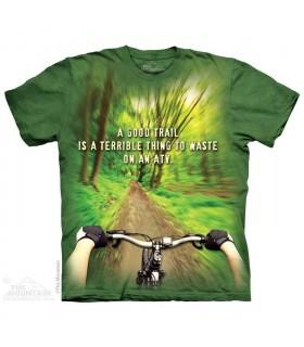 Parcours Extérieur - T-shirt Vélo The Mountain