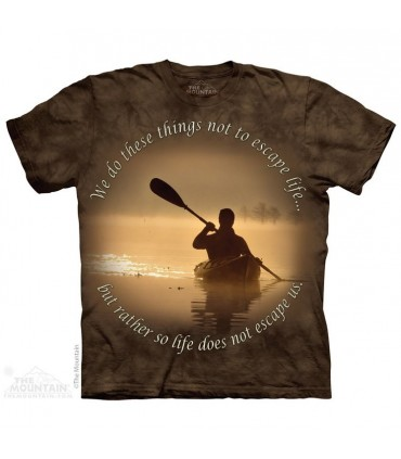 T-shirt Kayak The Mountain