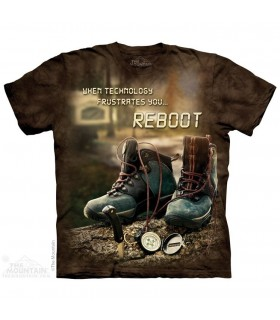 Reboot Outdoor - Hiking T Shirt The Mountain