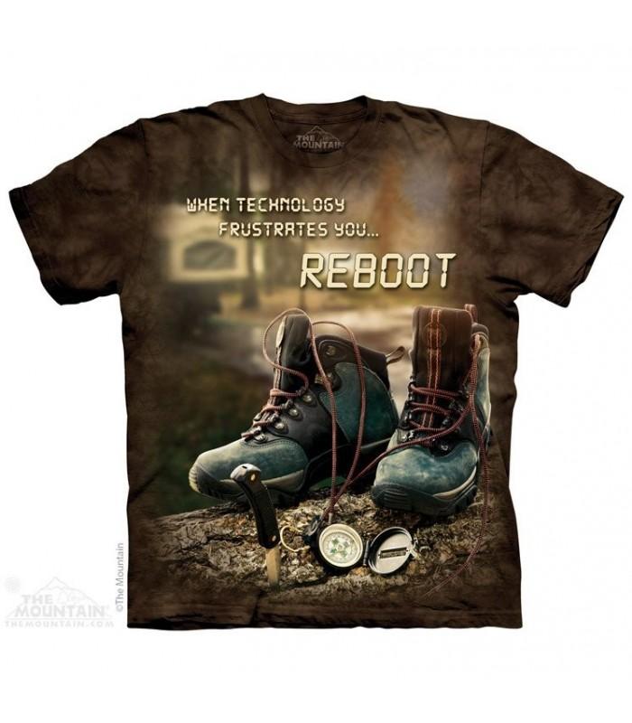 Reboot - T-shirt Randonnée The Mountain