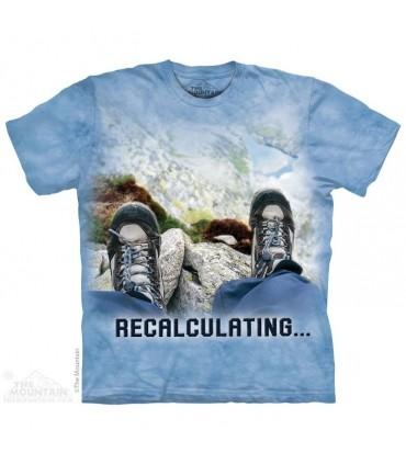 Recalcul - T-shirt Aventure The Mountain