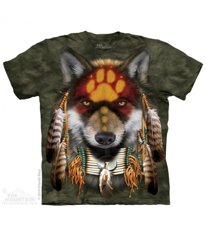 Esprit de Loup - T-shirt animal The Mountain