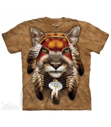 T-shirt Lion Guerrier The Mountain