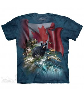 T Shirt Canada The Beautiful The Mountain