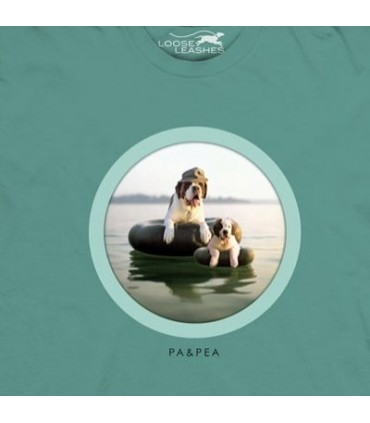 Pa and Pea - Dogs T Shirt by the Mountain