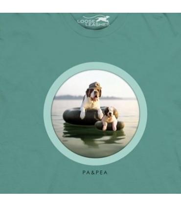 T-Shirt Pa et Pea par The Mountain