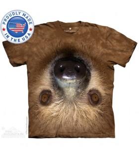 Upside Down Sloth T-Shirt