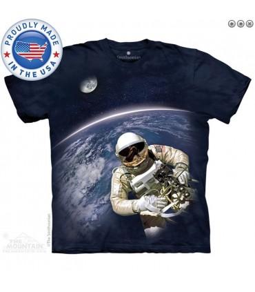 T-shirt Première Sortie Américaine dans l'Espace