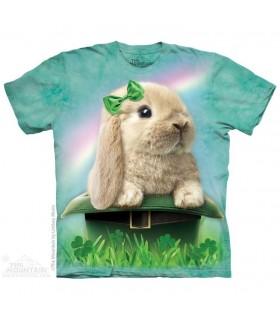 Irish Bunny - Rabbit T Shirt The Mountain
