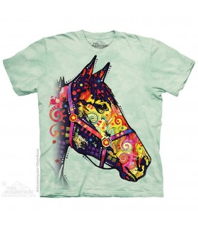 T-shirt Cheval Funky The Mountain