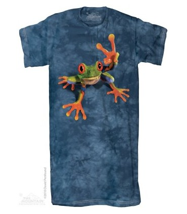 Victory Frog 1Size4All Adult Nightshirt The Mountain