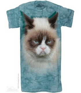 Grumpy Cat 1Size4All OL Adult Nightshirt The Mountain