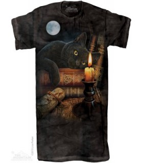 The Witching Hour 1Size4All Adult Nightshirt The Mountain