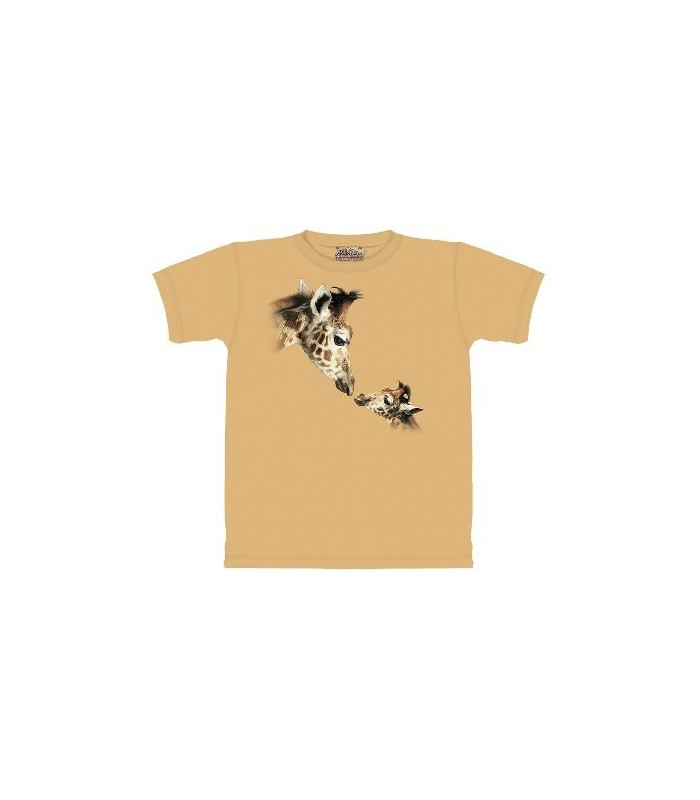 Hello Up There - Zoo Animals T Shirt by the Mountain