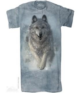 Chemise de nuit Loup Blanc The Mountain