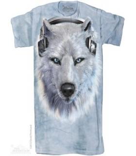 Chemise de nuit Loup DJ The Mountain