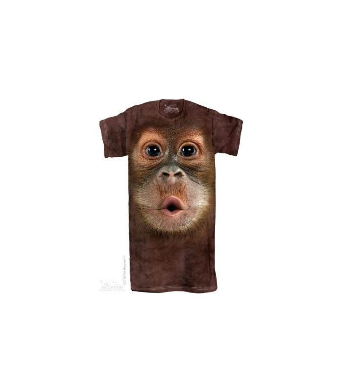 Chemise de nuit adulte Bébé Orang-Outan The Mountain