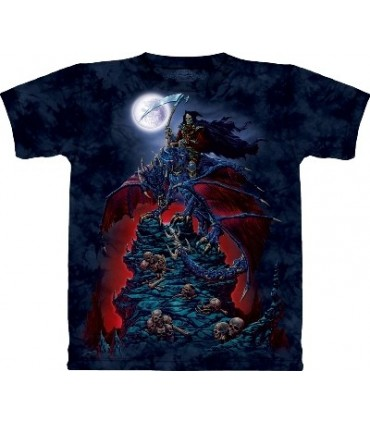 T-Shirt Faucheur sur Dragon par The Mountain