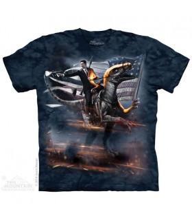 Reagan Velociraptor - Dinosaur T Shirt The Mountain
