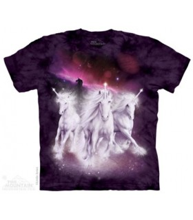 Cosmic Unicorns - Fantasy T Shirt The Mountain