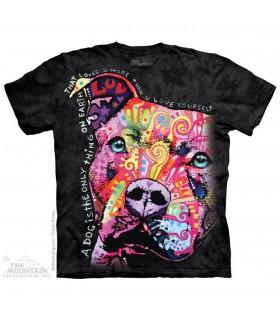 T-shirt Pit Bull Pensif - Dean Russo