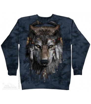 DJ Fen - Sweat shirt Loup The Mountain