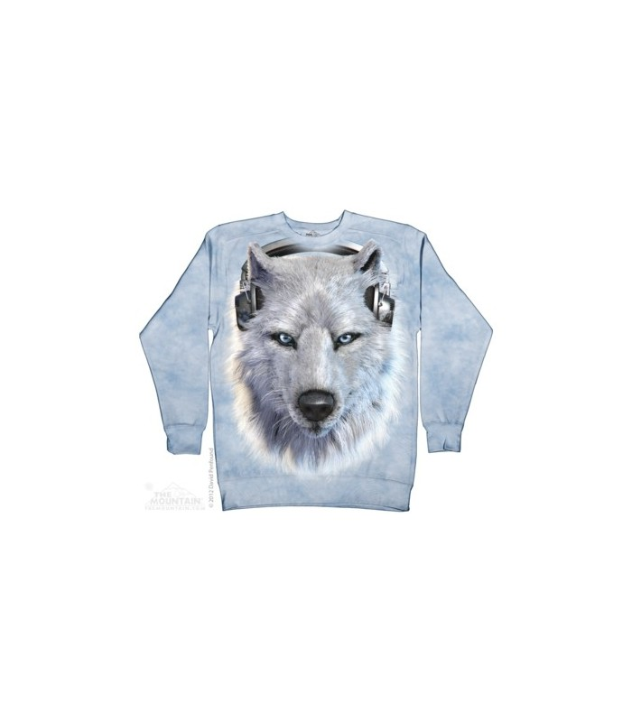 Loup Blanc DJ - Sweat shirt The Mountain