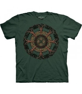 Celtic Tree - Celtic Shirt The Mountain