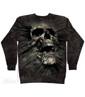 Breakthrough Skull - Crewneck Sweatshirt The Mountain