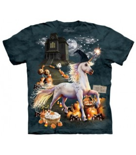 Halloween Unicorn - Fantasy T Shirt The Mountain