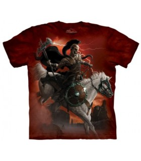 Dark Rider - Dark fantasy T Shirt The Mountain