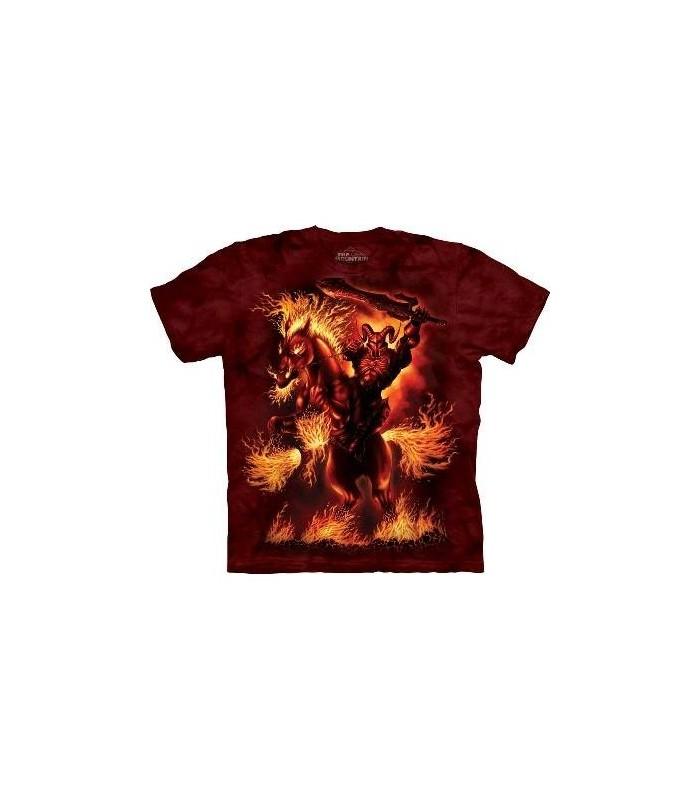 T-Shirt Dieu de la Guerre par The Mountain