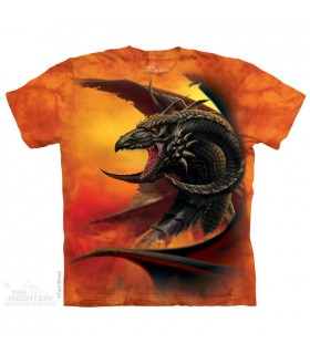 Scourge - T-shirt Dragon The Mountain