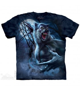 T-shirt Loup-Garou The Mountain