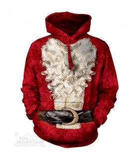 Santa Suit - Christmas Hoodie The Mountain