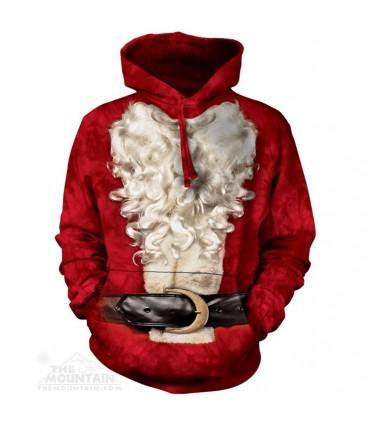 Santa Suit - Christmas Hoodie The Mountain