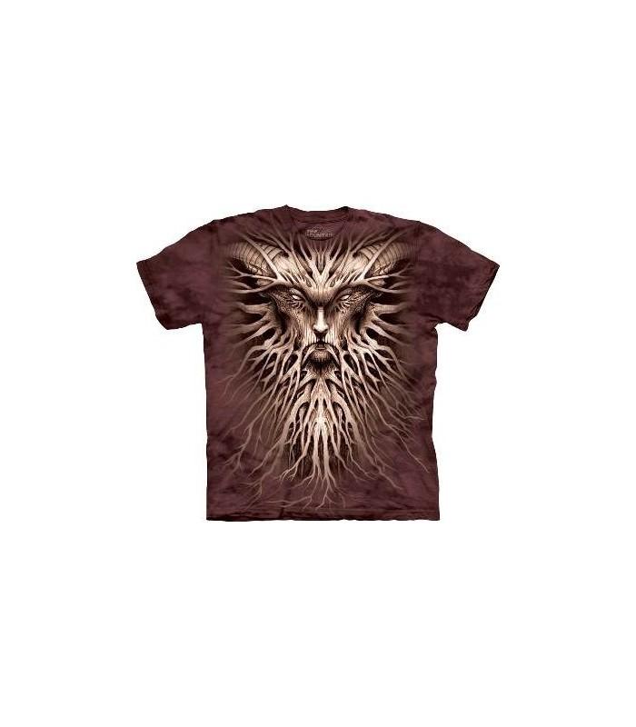 T-Shirt Sombres Racines par The Mountain