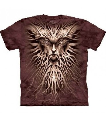T-Shirt Sombres Racines par The Mountain