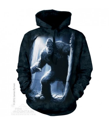 Sasquatch - Fantasy Hoodie The Mountain