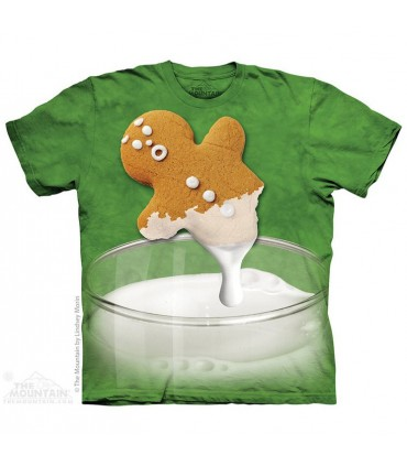 Gingerbread Dunk Attack - Christmas T Shirt The Mountain
