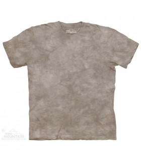 Clay - Mottled Dye T Shirt The Mountain