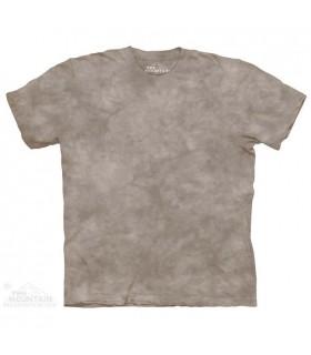 Clay - Mottled Dye T Shirt The Mountain